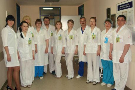 Запись к врачу в больнице нефтяник