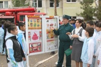 Занятия с обучающимися по требованиям пожарной безопасности