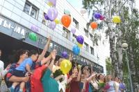 95 воздушных шаров взметнулись в небо Ханты-Мансийска